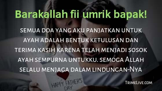 Ucapan Ulang Tahun untuk Ayah Secara Islami