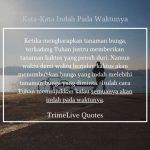 75+ Kata-Kata Indah pada waktunya terbaru | Bijak dan Penuh Makna