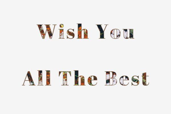 √ Arti Wish You All The Best dan Waktu Penggunaannya yang Tepat