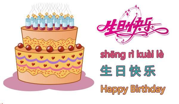 Ucapan Selamat Ulang Tahun Bahasa Mandarin (Cina) yang Benar