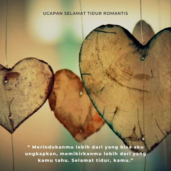 Ucapan Selamat Tidur Romantis buat Gebetan