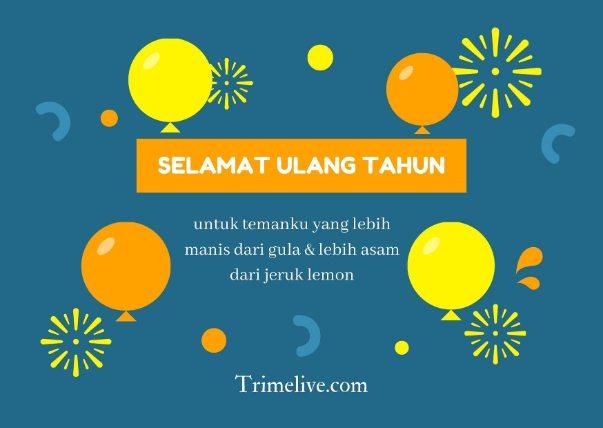 125 Ucapan Selamat Ulang Tahun untuk Sahabat Lucu